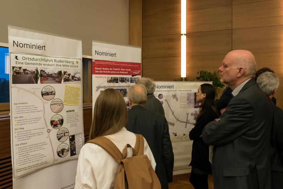 Ausstellung zum Verkehrsplanungspreis