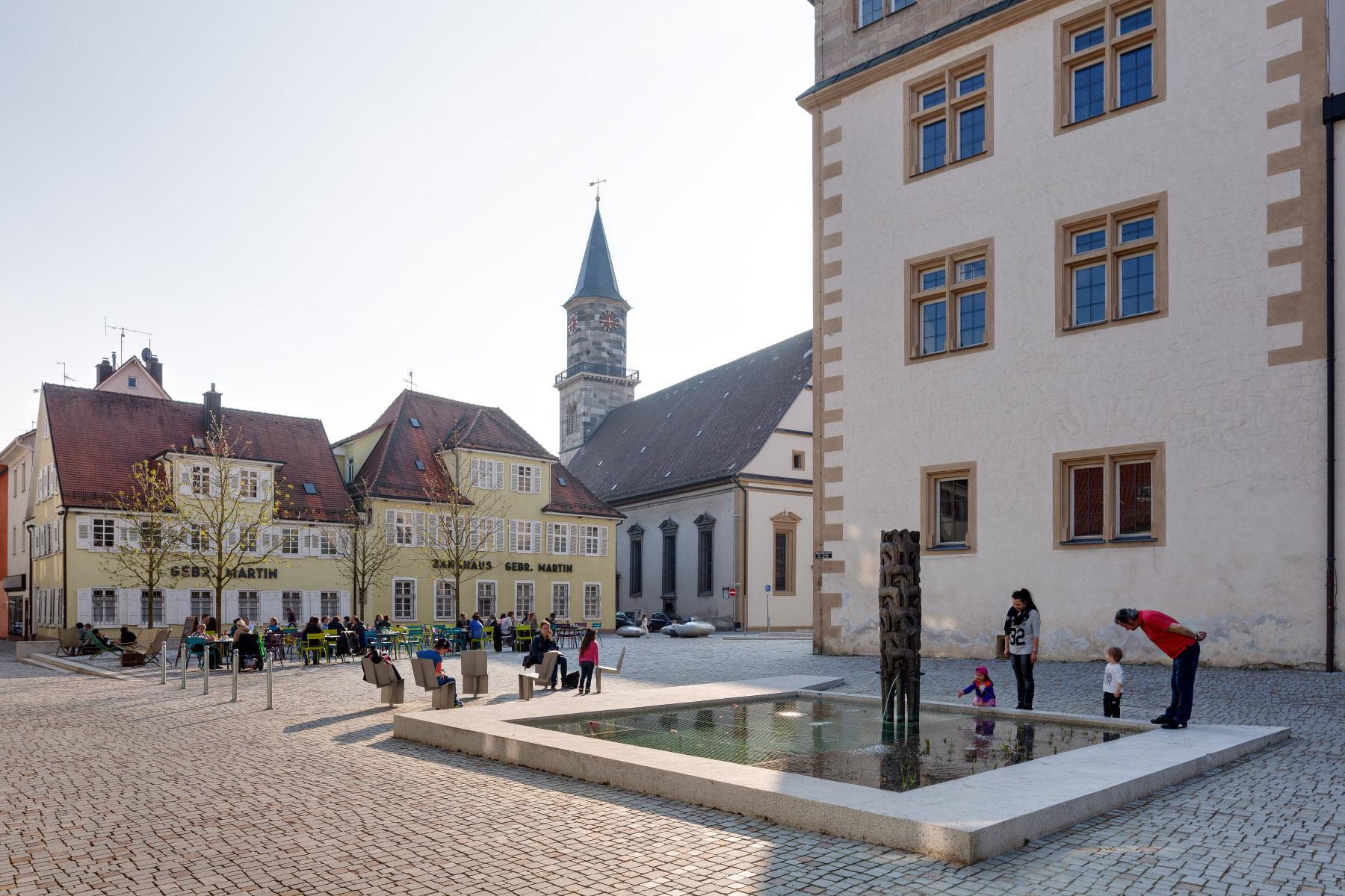 Schlossplatz Göppingen (Foto: Prof. Peter Cheret)