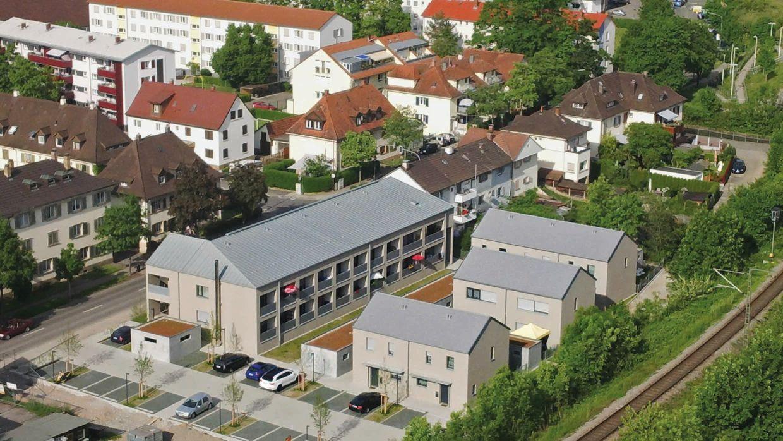 Eine anständige Siedlung im Neumattquartier (BA1; Foto: Wolfgang Göckel)